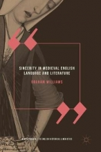 Graham Williams Sincerity in Medieval English Language and Literature