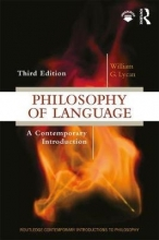 William G Lycan Philosophy of Language