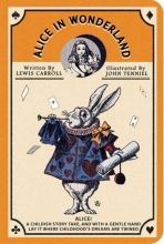 Alice in Wonderland Stitch Pocket Lined Notebook