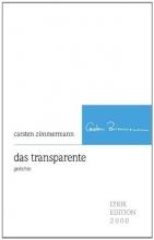 Zimmermann, Carsten das transparente