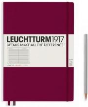 , Leuchtturm notitieboek composition softcover 178x254 mm port gelinieerd