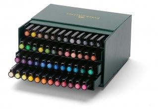 tekenstift Faber Castell Pitt Artist Pen Brush 48-delig     Studiobox