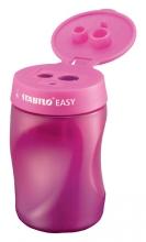 , Puntenslijper STABILO Easy 4502 3 in 1 rechtshandig roze