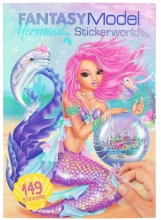 , Fantasy model mermaid stickerworld - 149 stickers