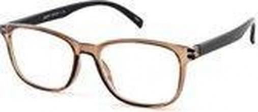 , Leesbril I Need You Lucky +2.00 bruin-zwart