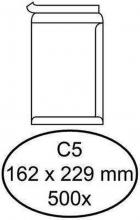 , Envelop Quantore akte C5 162x229mm zelfklevend wit 500stuks