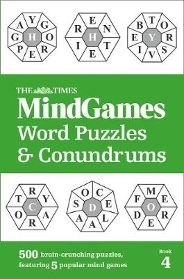 The Times Mind Games,The Times MindGames Word Puzzles and Conundrums Book 4