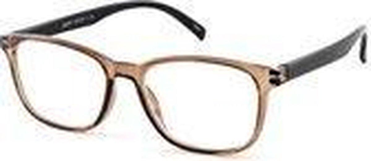 ,Leesbril I Need You Lucky +2.00 bruin-zwart