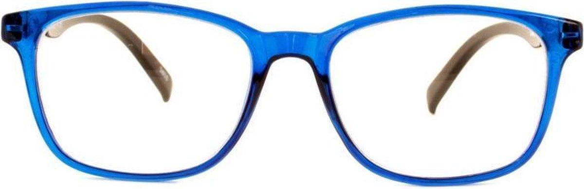 ,Leesbril I Need You Lucky +2.00 blauw-zwart