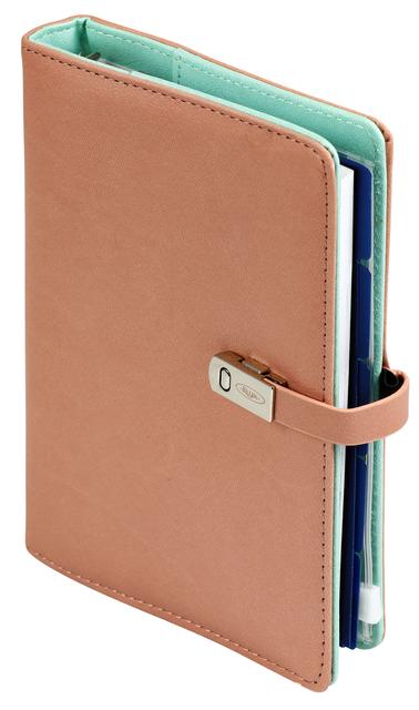 ,Agenda 2021-2022 organizer Kalpa Pocket Junior Pastel groen/roze