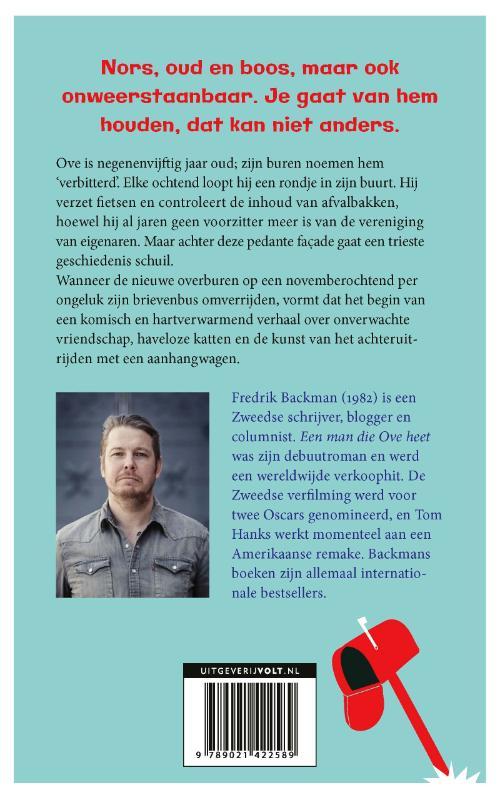 Fredrik Backman,Een man die Ove heet