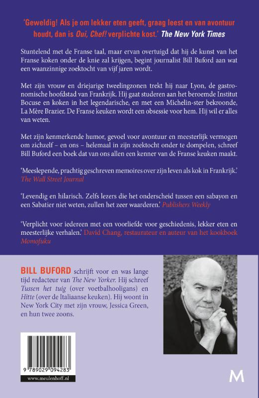 Bill Buford,Oui, Chef!