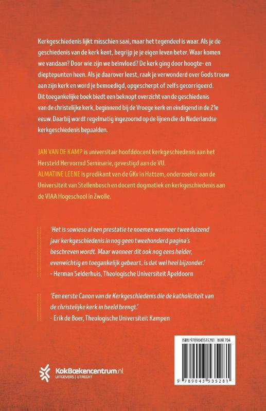 Almatine Leene, Jan van de Kamp,Kerkgeschiedenis voor iedereen