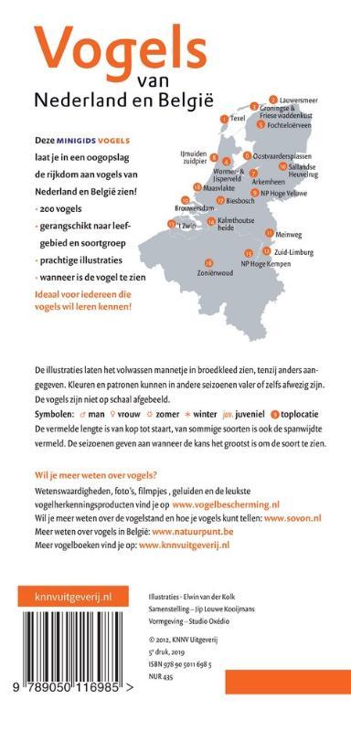 Jip Louwe Kooijmans,Minigids Vogels van Nederland en België