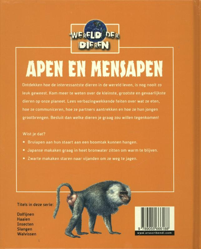 Sarah Eason,Apen en mensapen