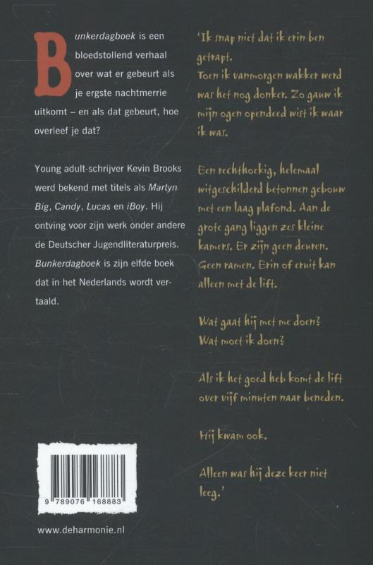 Kevin Brooks,Bunkerdagboek