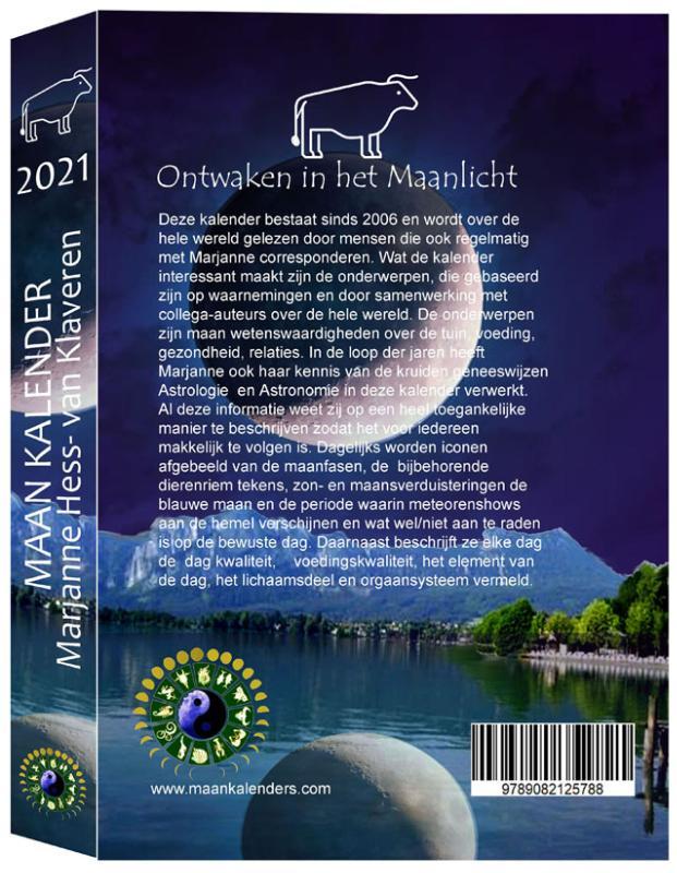 Marjanne Hess van Klaveren,MaanKalender 2021