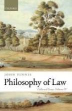 Finnis, John Philosophy of Law