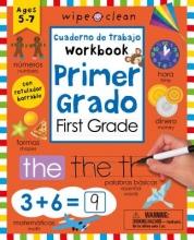 Wipe Clean cuaderno de trabajo primer grado Wipe Clean Bilingual Workbook for First Grade