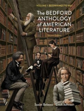 Belasco, Susan,   Johnson, Linck The Bedford Anthology of American Literature