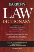 Gifis, Steven H. Barron`s Law Dictionary