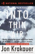 Krakauer, Jon Into Thin Air