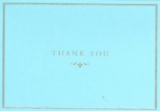 Blue Elegance Thank You 14pk