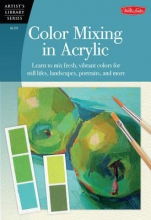 Lloyd Glover, David Color Mixing in Acrylic