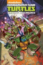 Walker, Landry Quinn,   Manning, Matthew K.,   Kochalka, James Teenage Mutant Ninja Turtles Amazing Adventures 1