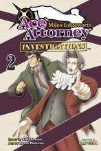 Kuroda, Kenji Miles Edgeworth- Ace Attorney Investigations 2