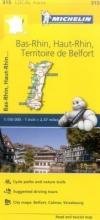 Bas-Rhin, Haut-Rhin, Territoire de Belfort - Michelin Local
