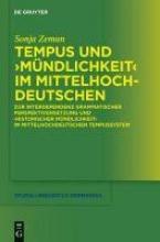 Sonja Zeman Tempus Und M ndlichkeit Im Mittelhochdeutschen