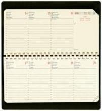 Planital Terminkalender Impala 2018 Schwarz Taschen-Kalender