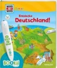 Oftring, Bärbel,   Kaiser, Claudia,   Lickleder, Martin,   Haßler, Sebastian BOOKii® WAS IST WAS Junior Entdecke Deutschland!