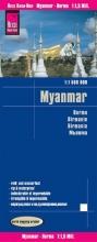 , Reise Know-How Landkarte Myanmar 1 : 1.500.000