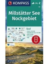 Kompass-Karten Gmbh , Millstätter See, Nockgebiet 1:50 000