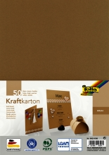 , Kraftpapier Folia din A4 230gr pak à 50 vel