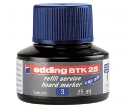 , Viltstiftinkt edding BTK25 voor whiteboard blauw