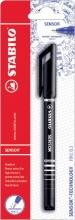 , Fineliner STABILO Sensor zwart blister