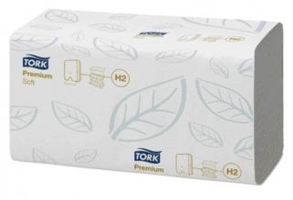 , Handdoek Tork H2 100289 Premium 2laags 2