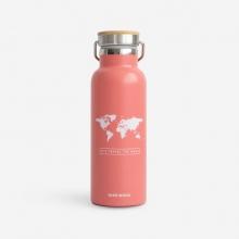 , Woody drinkbus Wereld Roze - Wit