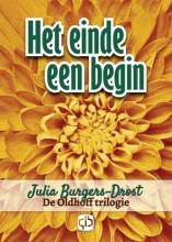 Julia  Burgers-Drost Het einde een begin - grote letter uitgave
