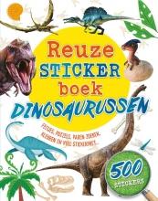 Claire Sipi , Reuzestickerboek Dinosaurussen