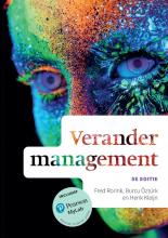 Fred Rorink Henk Kleijn  Burcu Öztürk, Verandermanagement