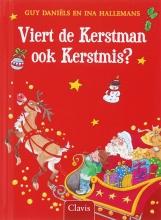 Guy  Daniels Viert de kerstman ook kerstmis? Miniboekje