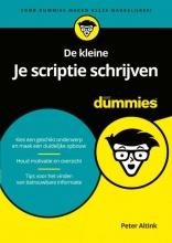 Peter Altink , De kleine Je scriptie schrijven voor Dummies