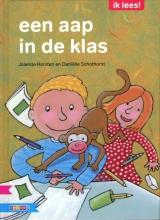 Jolanda  Horsten een aap in de klas