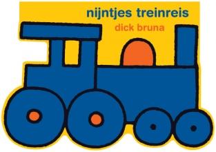 Dick Bruna , nijntjes treinreis