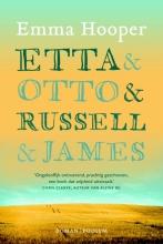 Emma  Hooper Etta en Otto en Russell en James