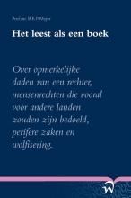 B.E.P. Myjer , Het leest als een boek